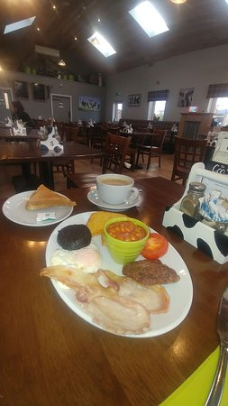Alloway, UK: Breakfast in the Byre!