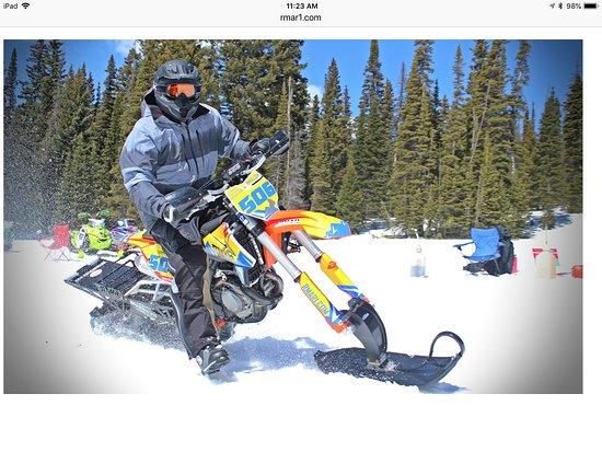 Minturn, CO: KTM Timbersled Snowbikes
