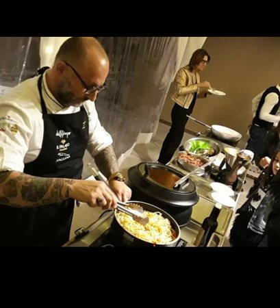 Antica Trattoria San Lorenzo : show cooking