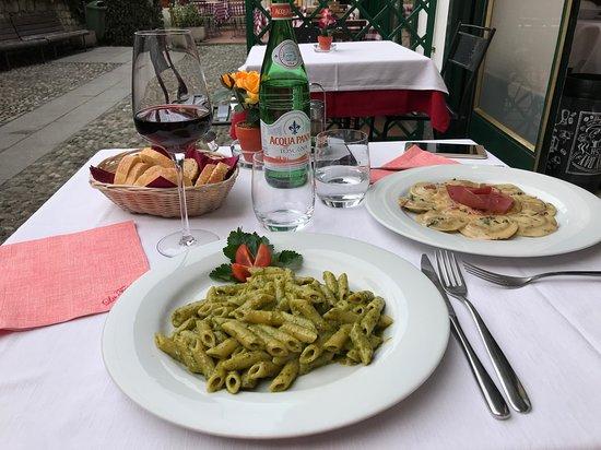 La Fontana Bellagio: Almuerzo