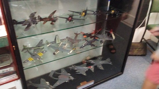 Camelford, UK: Some of the models