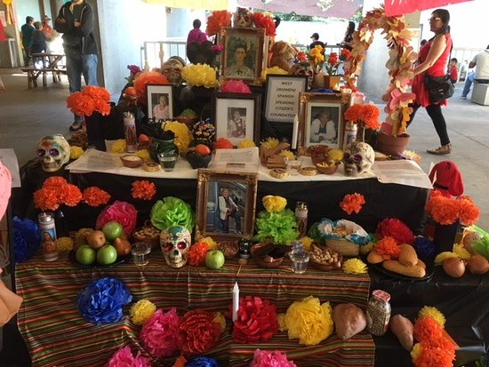 Friday Nights at OMCA: One of the altars celebrating the dead at Dia de los Metros