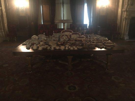 Vanderbilt Mansion National Historic Site: China, anyone?