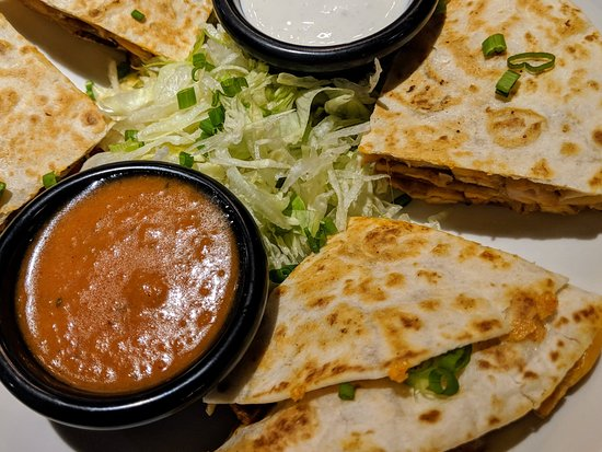 Hanover Park, IL: Thick and tsaty Quessedillas from our Appetizer menu hits the spot!