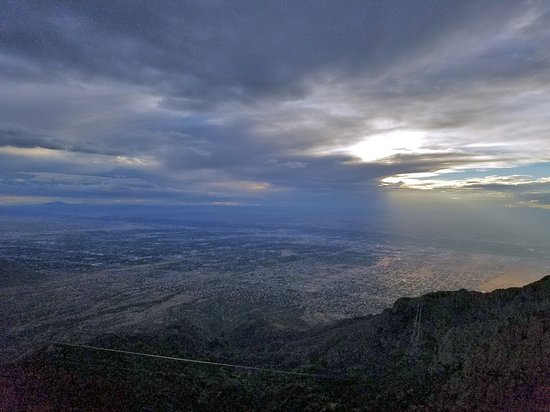 Sandia Peak Tramway: One view from the top