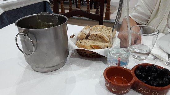 Meda, Portugalia: Preparação da refeição.