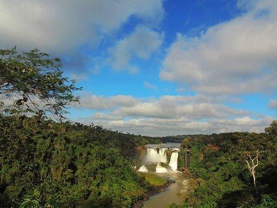 Presidente Franco, Paragwaj: Um dos Mirantes do Parque Aventura Monday