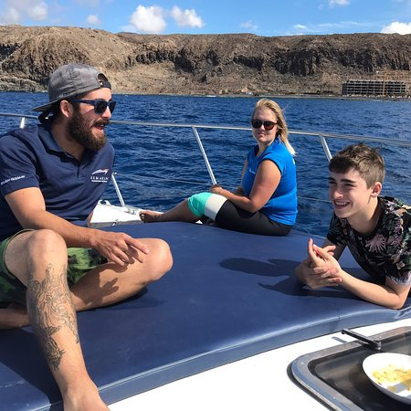 Great whale watching tour
