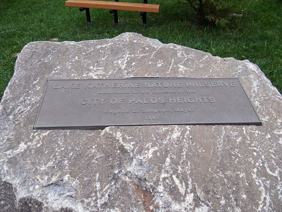 Palos Heights, IL: a plaque