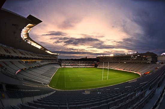 Rugby game - Review of Eden Park, Auckland, New Zealand ...
