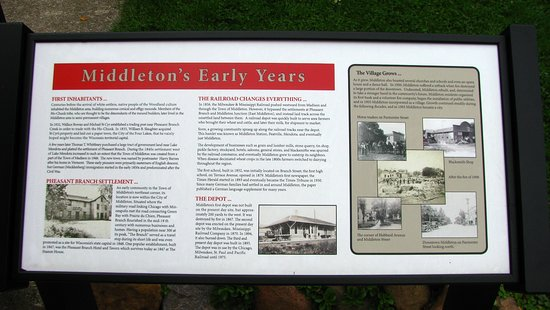 Middleton Historical Plaques