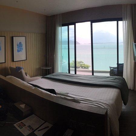 Edles, neuwertiges Hotel. Strand leider vermüllt