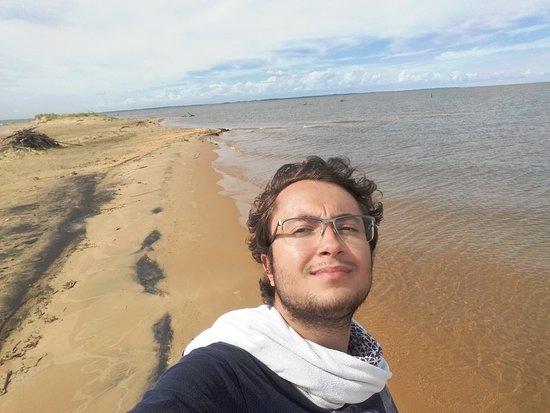 San Cosme y Damian, Paraguai: Praia das dunas