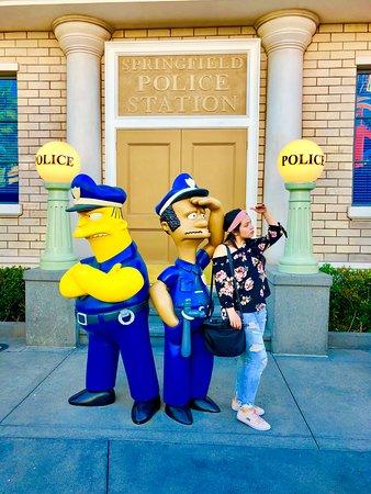Universal Studios Hollywood: Springfield