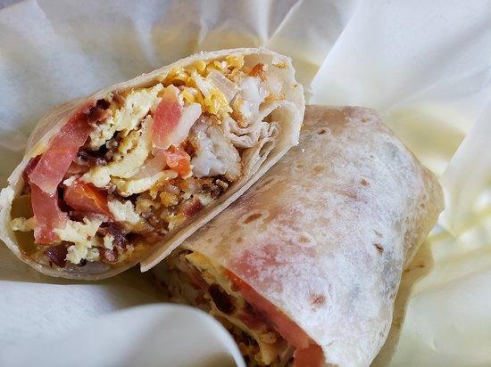 Splash Cafe and Artisan Bakery: Burrito #2