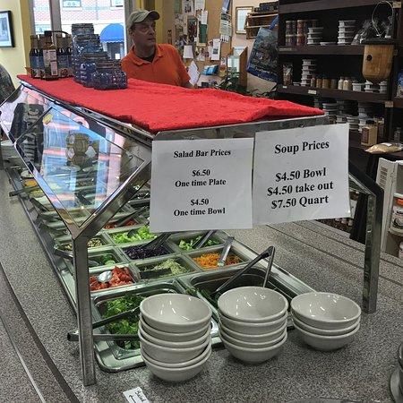 Salad Bar and Soup