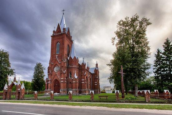 Vidiškės Saint Virgin Mary's Church