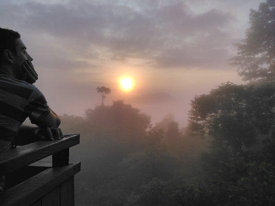 Kapit, Malaysia: sunrise