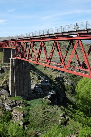 Central Otago, New Zealand: Otago Central Rail Trail.