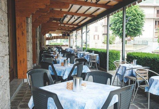 Serina, Ιταλία: Terrazza esterna