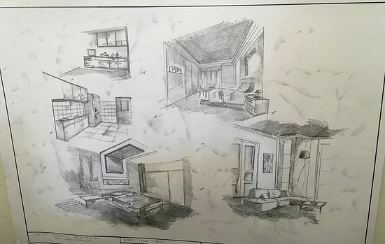 Sketches by students