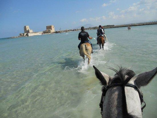 Custonaci, Italie: Escursione a cavallo