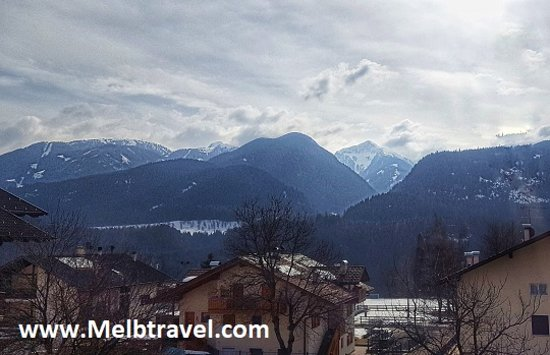 Castello-Molina di Fiemme, Italy: View from my balcony