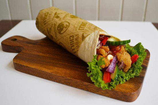 Sweet Chilli Wrap