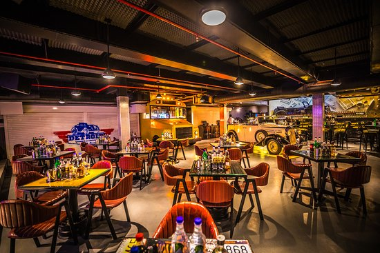 Detroit Garage Bar Amp Kitchen New Delhi Menu Prices