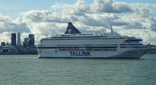 Departing Of From Europa Silja Tallinn Line Picture Tallink EHWD2Y9I