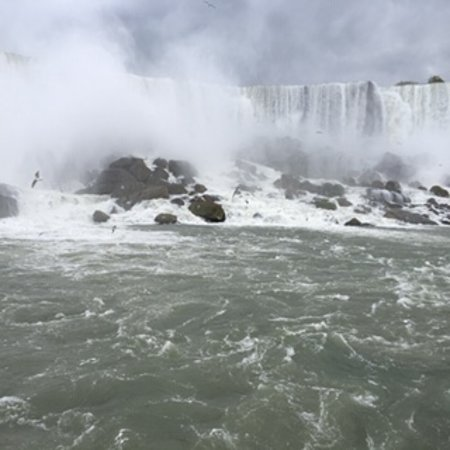 ToNiagara Tours: The roar of the water falling is so loud