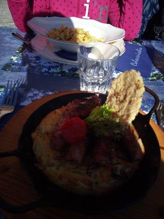 * Rösti Cardada + Spätzle al Parmigiano (menù bambini) *
