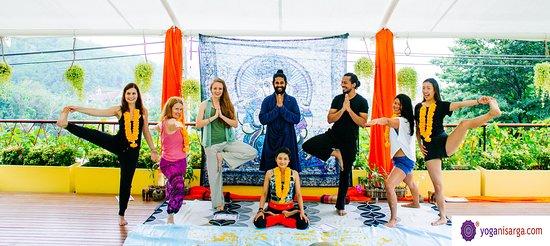 Pernem, الهند: Yoga Nisarga Team 