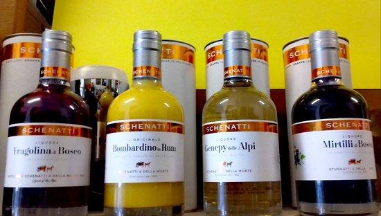 Сан-Сиро, Италия: Liquori Schenatti