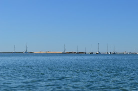 Private Half-day Ria Formosa Natural Park Faro Islands Boat Cruise from Faro: Dune de sable au large