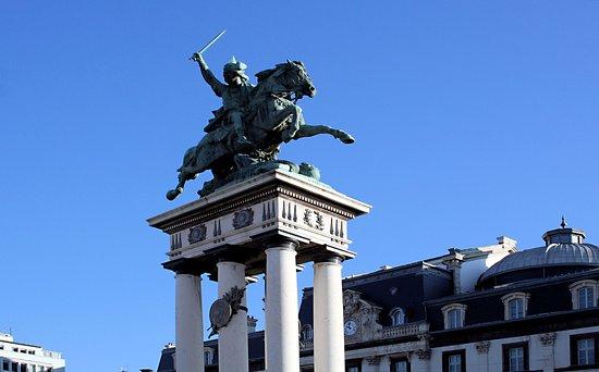 Statue équestre de Vercingétorix