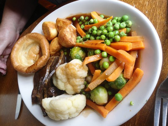 Dunham on the Hill, UK: daily roast