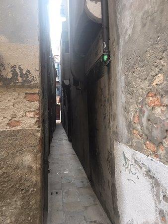 Secret passage to the hotel