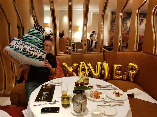 Raffles Jakarta 19th October Birthday Dinner