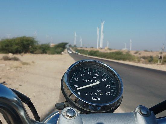 Bada Bagh : Me and my bike to Bada Baag