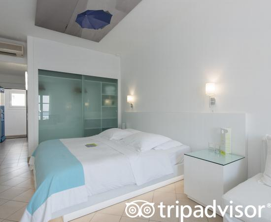 The Superior Room at the Petasos Beach Hotel & Spa