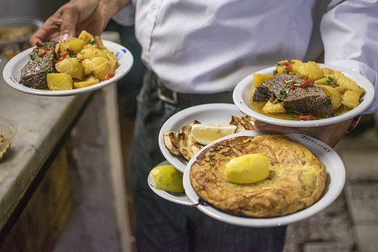 Comedor Balcarce: tortilla