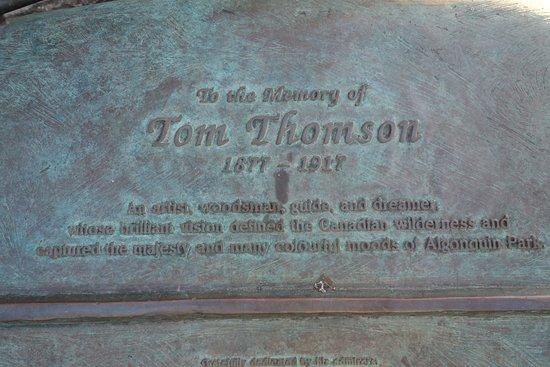 Tom Thomson Memorial