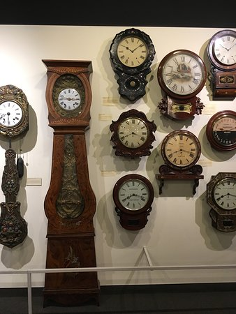 National Watch and Clock Museum: Clocks...
