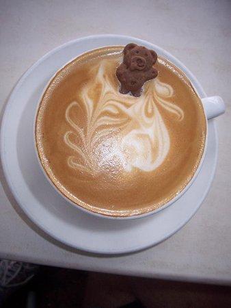 Mermaid Waters, Australien: This coffee will make you smile