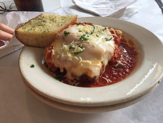 Watauga, TX: Lasagne at Chef Point