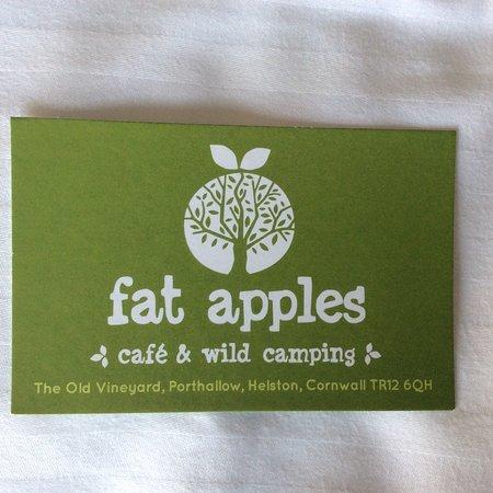 St Keverne, UK: Fat Apples Cafe