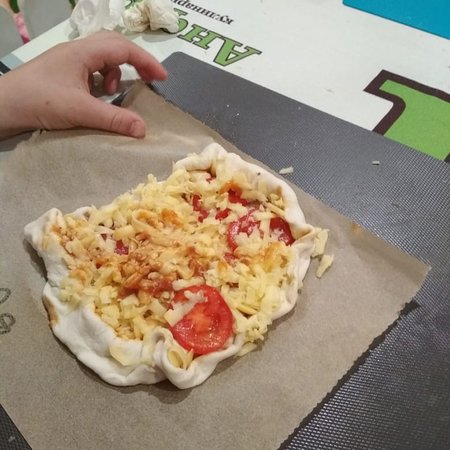 Мастер-класс «Пицца своими руками» очень вкусная, потому что своя))))