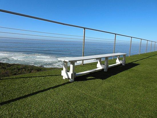 Wilderness Beach Resort & Apartments: Deck Area