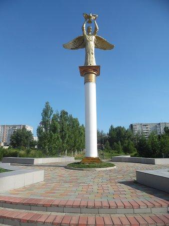 Abakan, Russland: angel